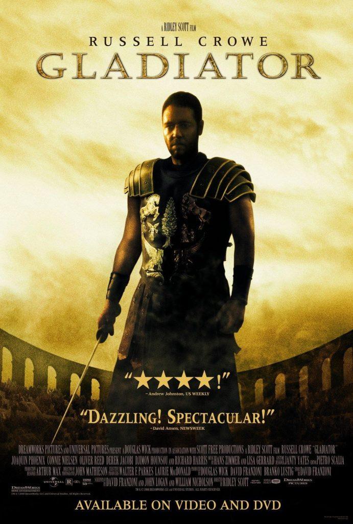 Gladiator - Bucket list movies