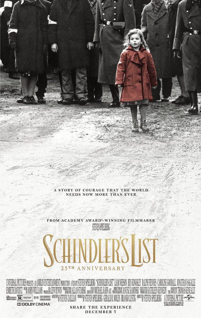 Schindler's List - Bucket list movies