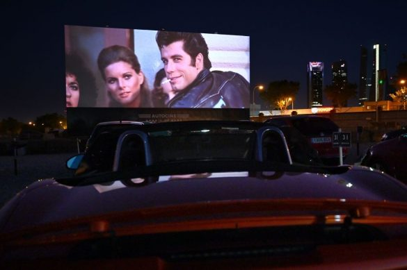 Drive in Cinema - Entertainment is Back in Bahrain with its 1st Drive In Theatre