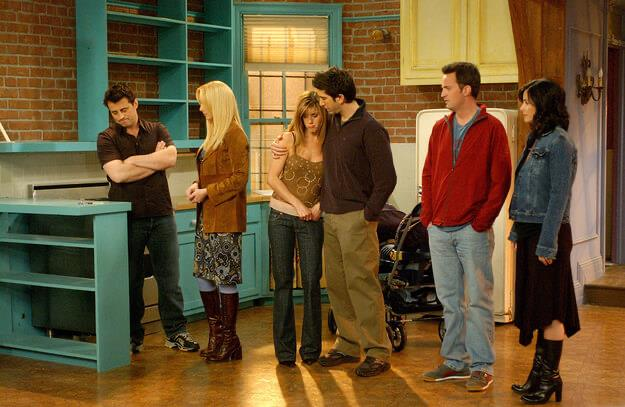 Friends 3 - best sitcom ever made