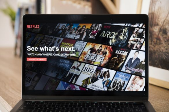 Trending shows to watch on Netflix - laptop screen