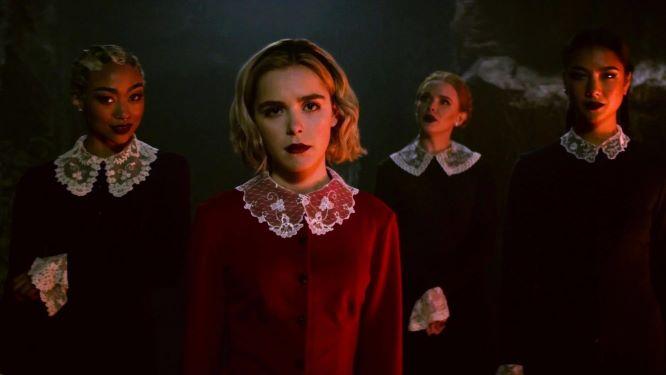 Chilling Adventures of Sabrina - trending on Netflix